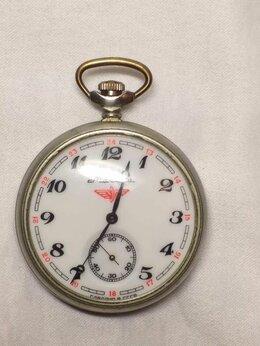 Карманные часы - Часы Молния.Локомотив., 0
