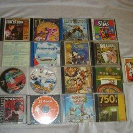 Игры для приставок и ПК - Игры для DOS, Win 95,98. 17 дисков, 0