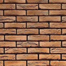Облицовочный камень - Бельгийский кирпич лайт Декоративный камень, 0