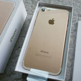 Мобильные телефоны - iPhone 7 256gb Золотой/Новый/Оригинал, 0