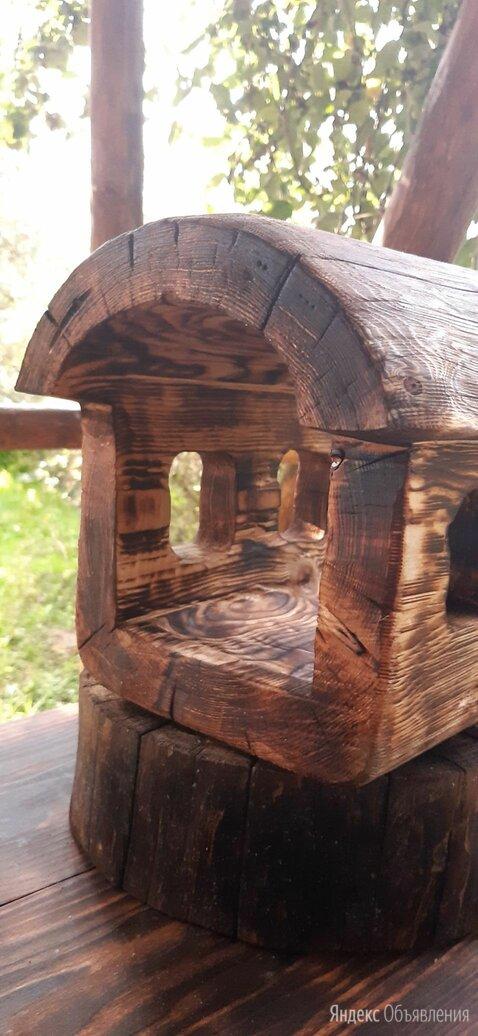 Кормушка домик для птиц и белок по цене 1200₽ - Миски, кормушки и поилки, фото 0