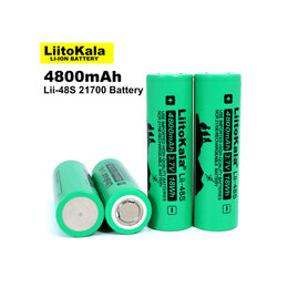 Батарейки - Аккумуляторы 21700 LiitoKala Lii-48S, 4800mAh, 0