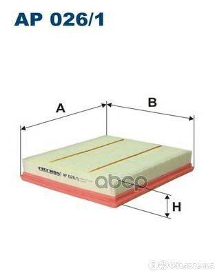 Фильтр Возд.Bmw 1,3,4-Й Серии 1,6-2,0 2011=> Filtron арт. AP026/1 по цене 900₽ - Отопление и кондиционирование , фото 0