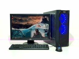 Настольные компьютеры - Игровой i5-4460 +SSD 240Gb + GTX 750 2Gb + Монитор, 0