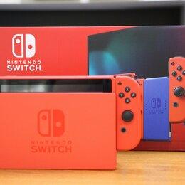 Игровые приставки - Nintendo Switch – Mario Red & Blue Edition Б.У, 0