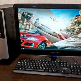 Настольные компьютеры - Игровой ПК в полном комплекте монитор+мышь+клава, 0