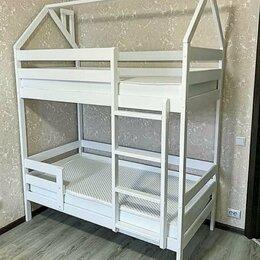 Кроватки - Кровать домик, 0