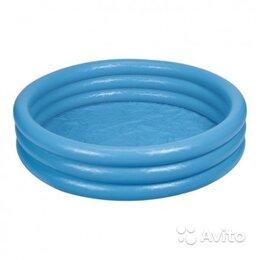 Аксессуары для плавания - Бассейн надувной 114х25см для детей, 0