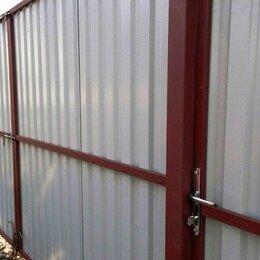 Заборы, ворота и элементы - Установка заборов. Металлоконструкции. Сварка., 0