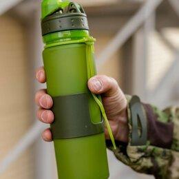 Бутылки - Силиконовая бутылка для воды 500 мл., 0