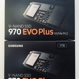 Жёсткие диски и SSD - Samsung SSD M.2 970 EVO Plus, 0