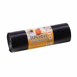 Мешки для мусора - Мешки для мусора 360 л, черные, в рулоне 10 шт.,…, 0