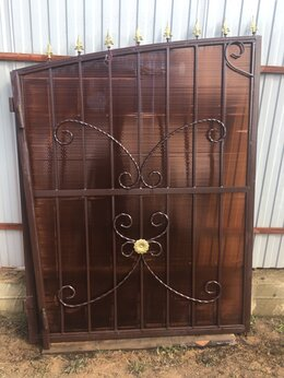 Заборы и ворота - Ворота кованые , 0