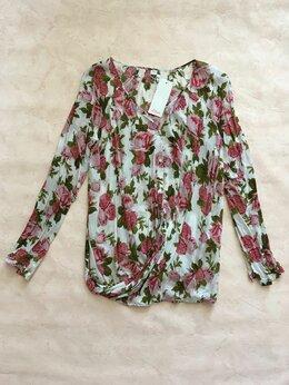 Блузки и кофточки - Блузка S.Oliver Германия цветная розы с биркой, 0