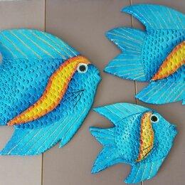 "Картины, постеры, гобелены, панно - Панно"" Рыбы"", 0"