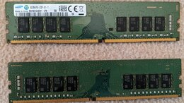 Модули памяти - Samsung 2x8Gb 16GB 2133MHz DDR4 ддр4 8гб 16Banks, 0