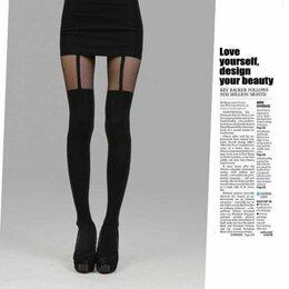 Колготки и носки - Колготки с эффектом чулок   , 0