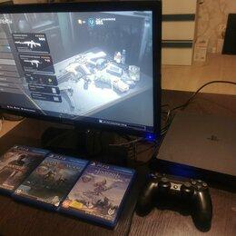 Игровые приставки - Sony PlayStation 4 Slim 500gb + 3 игры, 0