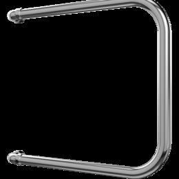 Установка для замены жидкостей - Полотенцесушитель водяной Terminus П-образный 50х40 (боковое подключение 50 см), 0
