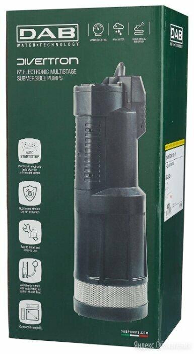 Колодезный насос-автомат DAB Divertron Италия по цене 26800₽ - Насосы и комплектующие, фото 0