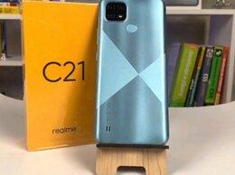 Мобильные телефоны - Realme C21 4/64 NFC  ростест, 0