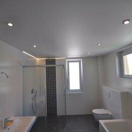 Потолки и комплектующие - Матовый потолок с установкой 12 м2, 0