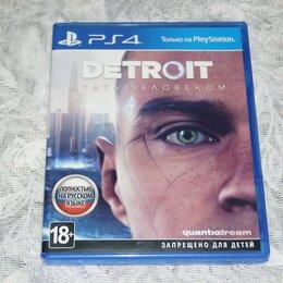 Игры для приставок и ПК - Detroit Стать человеком PS4, 0