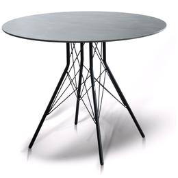 Столы и столики - Стол интерьерный 90 см Конте RC658-R90-SHT-TU2-1 С, 0