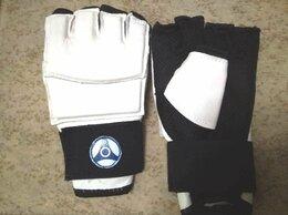 Перчатки для единоборств - Перчатки для карате, натуральная кожа новые, 0