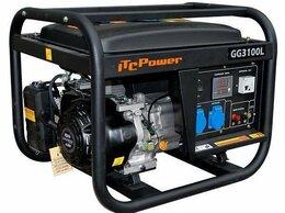 Электрогенераторы - Генератор бензиновый ITC POWER 3100L 2.5 квт, 0