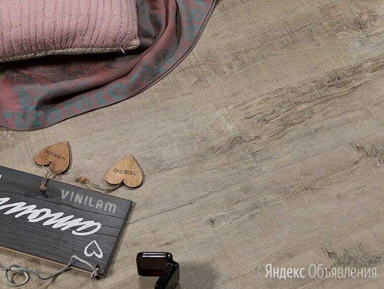 Кварц-виниловая плитка CERAMO VINILAM КЛЕЕВАЯ ПЛИТКА 2,5 мм Бетон по цене 1689₽ - Плитка ПВХ, фото 0