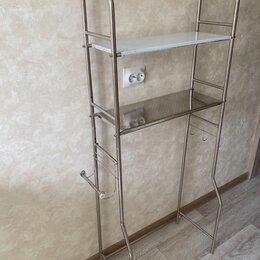 Стеллажи и этажерки - Стеллаж стальной хромированный новый, 0