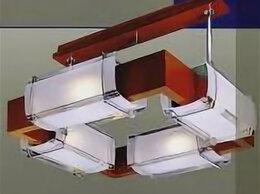 Люстры и потолочные светильники - Люстра в дереве вишня, 0