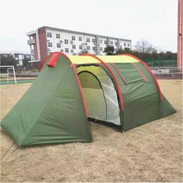 Палатки - Палатка кемпинговая высокая 4 места, 0