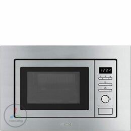 Микроволновые печи - Встраиваемая микроволновая печь Smeg FMI017X, 0