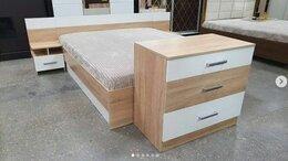 Кровати - Спальный Гарнитур Леси дуб сонома - белый, 0