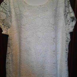 Блузки и кофточки - Блуза кружево XXL, 0