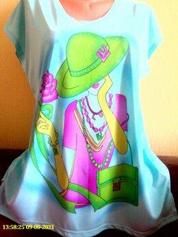Блузки и кофточки - блузон-футболка, 0