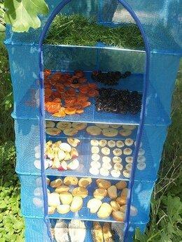 Сушилки для овощей, фруктов, грибов - Cетка сушилка 50x50x65 большая подвесная для…, 0