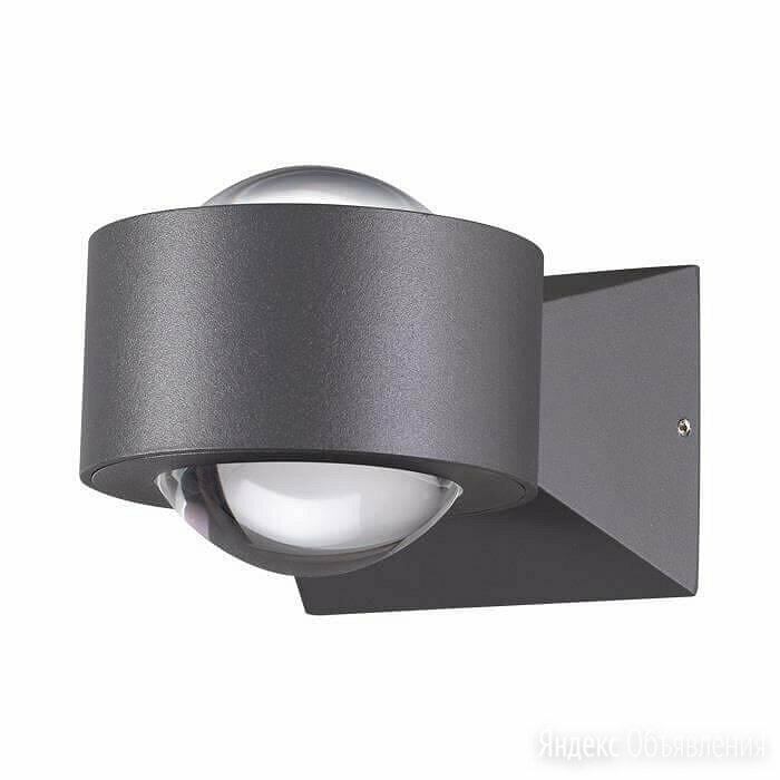 Уличный настенный светодиодный светильник Novotech Calle 358154 по цене 3690₽ - Уличное освещение, фото 0