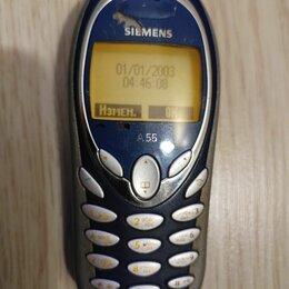 Мобильные телефоны - Кнопочный мобильный телефон Siemens A55 , 0