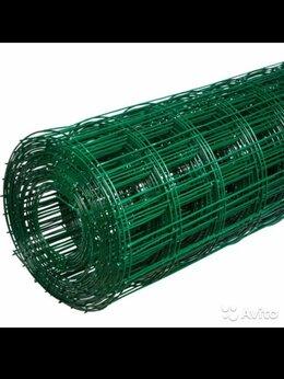 Сетки и решетки - Сетка сварная в пвх, Ячейка 5 см, высота 1.2 метра, 0