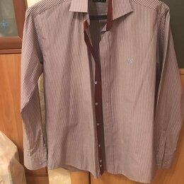 Рубашки - Рубашка desotti rossi, slim FIT, 46-48 (М), 0