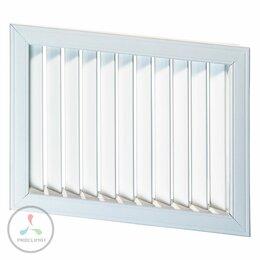 Входные двери - Решетка радиаторная VENTS НВН 350 х 300 бел., 0