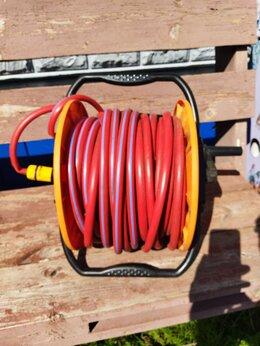 Шланги и комплекты для полива - Шланг для воды 1/2 40 метров на катушке, 0