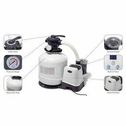 Фильтры, насосы и хлоргенераторы - 26646 Песочный фильтр-насос INTEX, производительность 6000 л/ч, 0