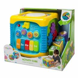Развивающие игрушки - Кубик развивающий, 0