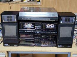 Музыкальные центры,  магнитофоны, магнитолы - Sanyo Arhitect ретро 1986 год, 0