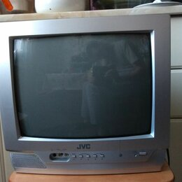 "Телевизоры - Телевизор ЭЛТ ""14"" JVC / дживиси (AV-1401AE), 0"