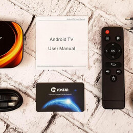 ТВ-приставки и медиаплееры - Android TV-приставка Vontar X3 4/64Gb, 0